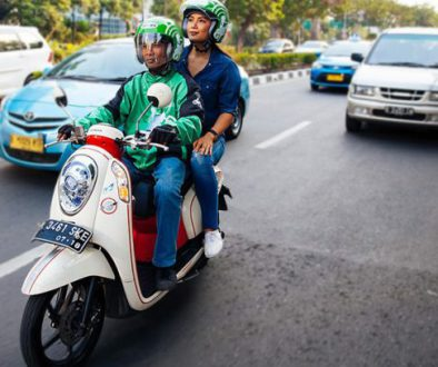 GO-JEK, a paratransit service that answers the mobility needs of Indonesian urban residents